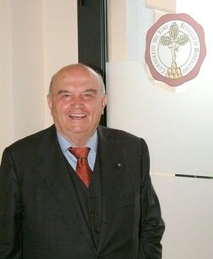 Ezio Rivella nuovo Presidente del Consorzio Brunello di Montalcino