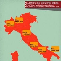 NATALE A TAVOLA: 3 MILIONI GLI ITALIANI A CACCIA DI SCONTI SUL WEB