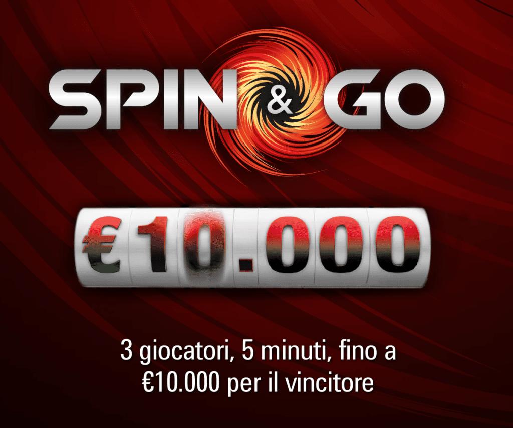 """Da oggi su Pokerstars.it parte """"Spin & Go"""""""