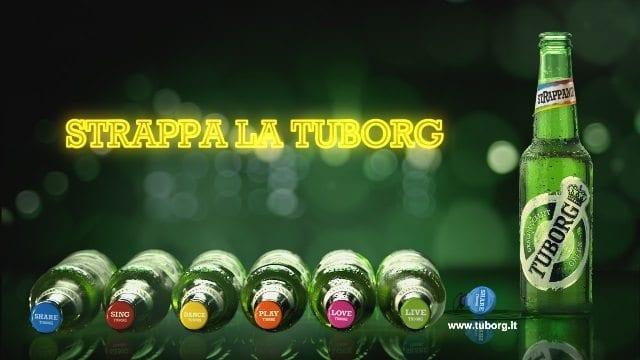 #StRappalaTuborg, in tv lo spot per la seconda edizione della campagna