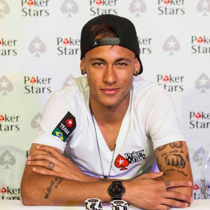 Neymar - PokerStars 1