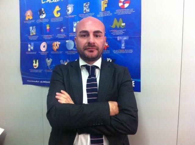 Silvio Giannino, general manager SEA LIFE Roma Aquarium