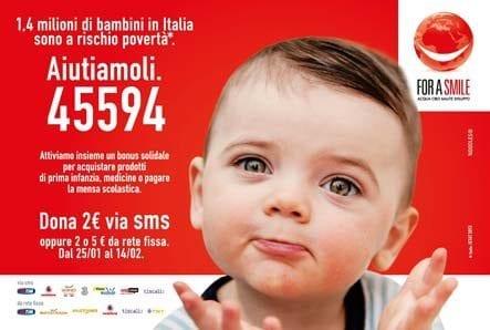 Urban Vision con For a Smile a Milano per la raccolta fondi in favore dei bambini a rischio povertà in Italia