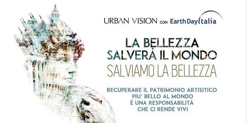 BENI CULTURALI: FRANCESCHINI E RAVASI A CONFRONTO NEL FORUM DI URBAN VISION ED EARTH DAY ITALIA '..SE IL MONDO SALVERA' LA BELLEZZA'