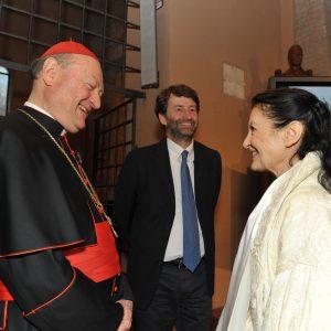Cardinal Ravasi e Carla Fracci