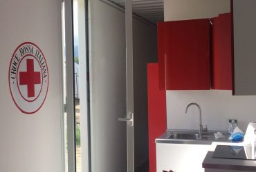 Spencer & Lewis con Container Home Italia e Olimpia Agency per Croce Rossa Italiana