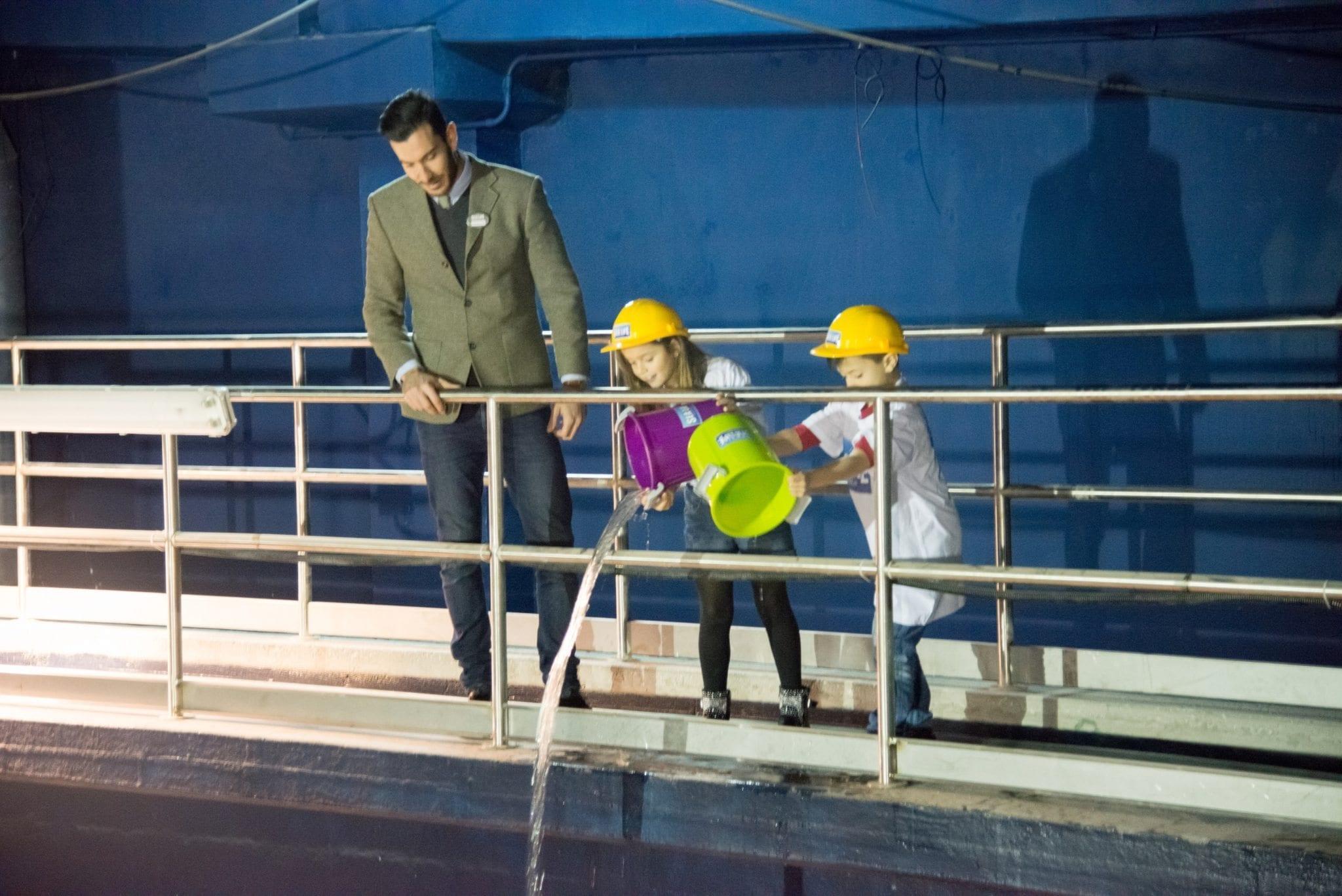 SEA LIFE ROMA AQUARIUM - WATER FILL 3
