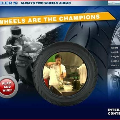 Wheels are the Champions - Metzeler 1