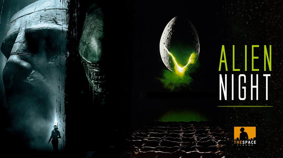 """Alien Night"": maratona evento in tutti i The Space Cinema"