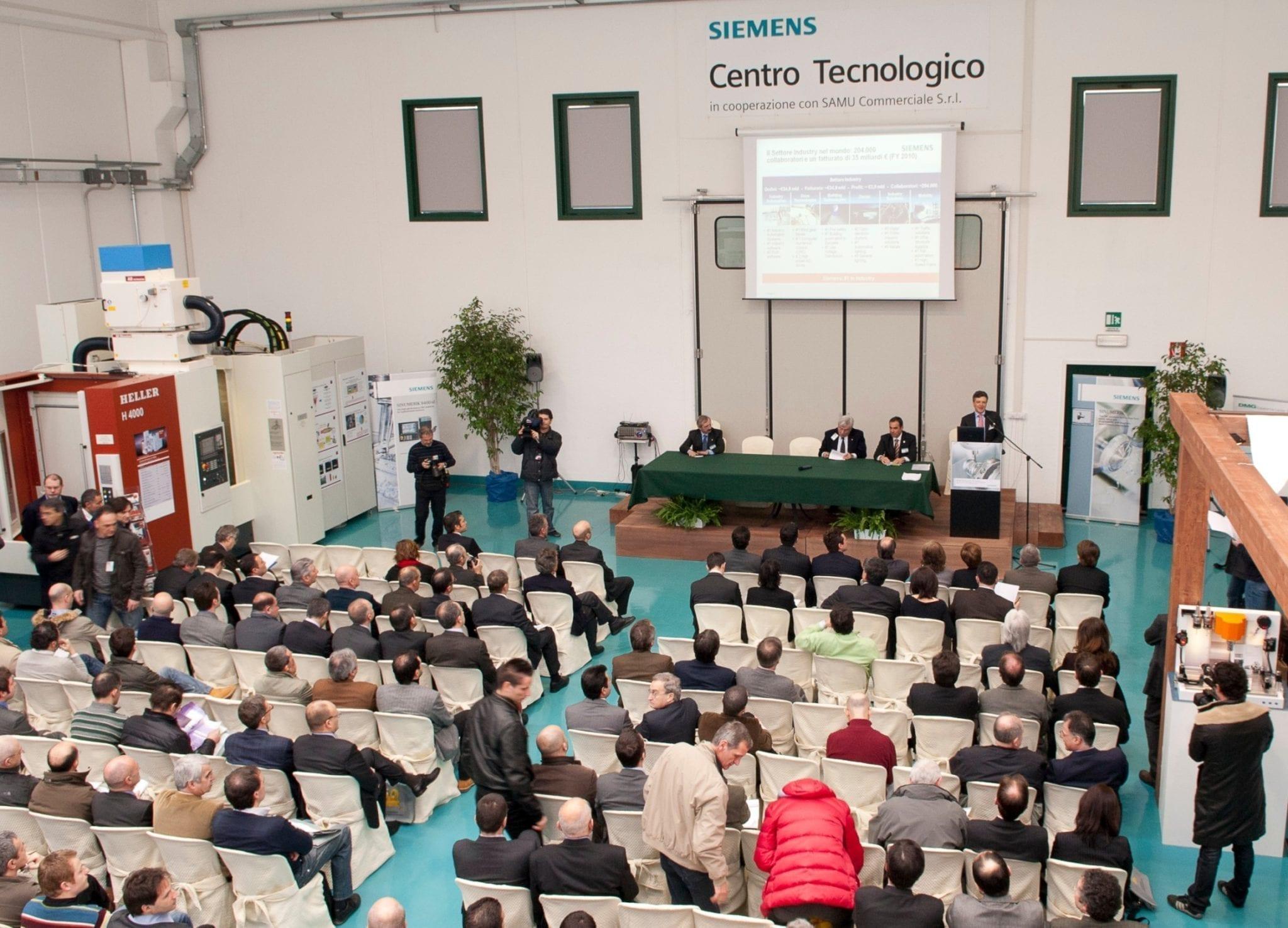 Industry 4.0: Siemens a Piacenza per l'anteprima della Fiera dell'Automazione
