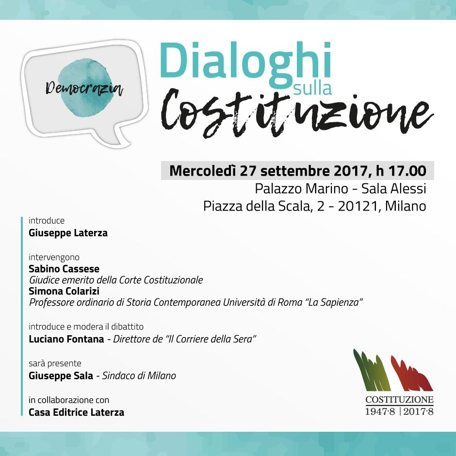 """""""Dialoghi sulla Costituzione"""": inaugurato il ciclo di lezioni sui principi fondamentali che accompagna """"Il Viaggio della Costituzione"""""""