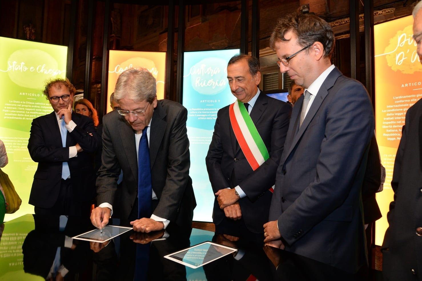 """Parte da Milano """"Il Viaggio della Costituzione"""" 1"""