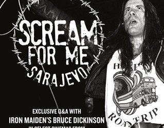 Scream For Me Sarajevo: l'avventuroso live di Bruce Dickinson nel 1994 diventa un documentario