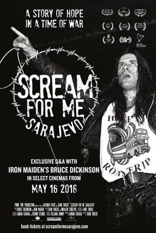 Scream For Me Sarajevo: l'avventuroso live di Bruce Dickinson nel 1994 diventa un documentario 1