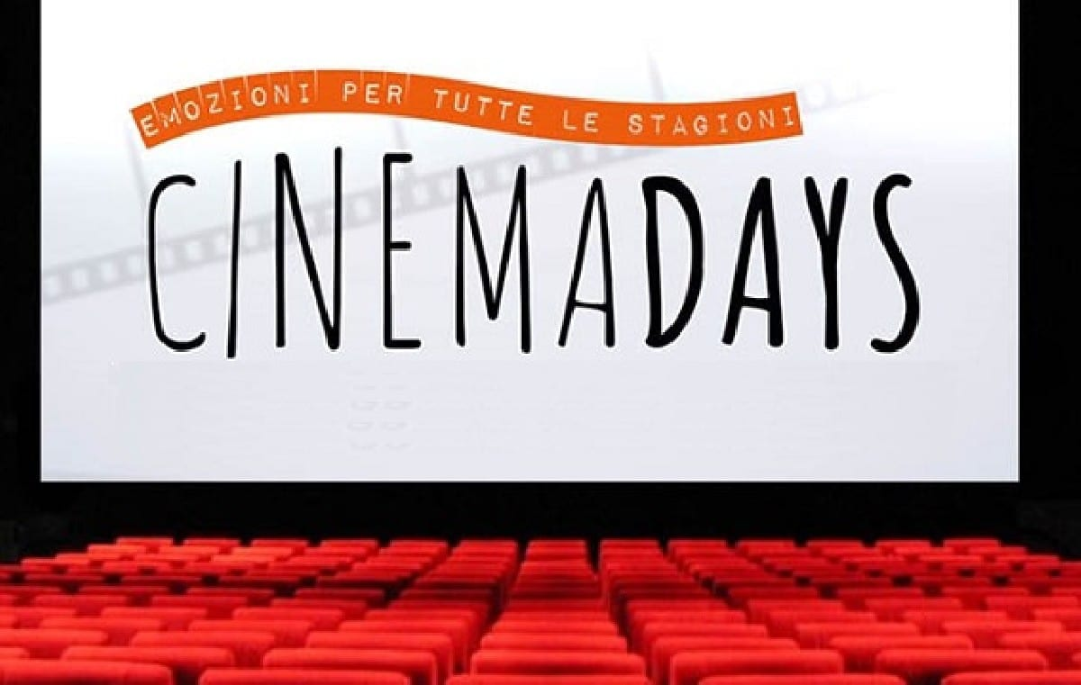 "Film a 3 euro con i CinemaDays:  The Space Cinema ""raddoppia"" l'iniziativa del MiBACT"