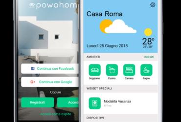 SMART HOME: L'ITALIANA POWAHOME ARRIVA SUL MERCATO DELLE CASE INTELLIGENTI