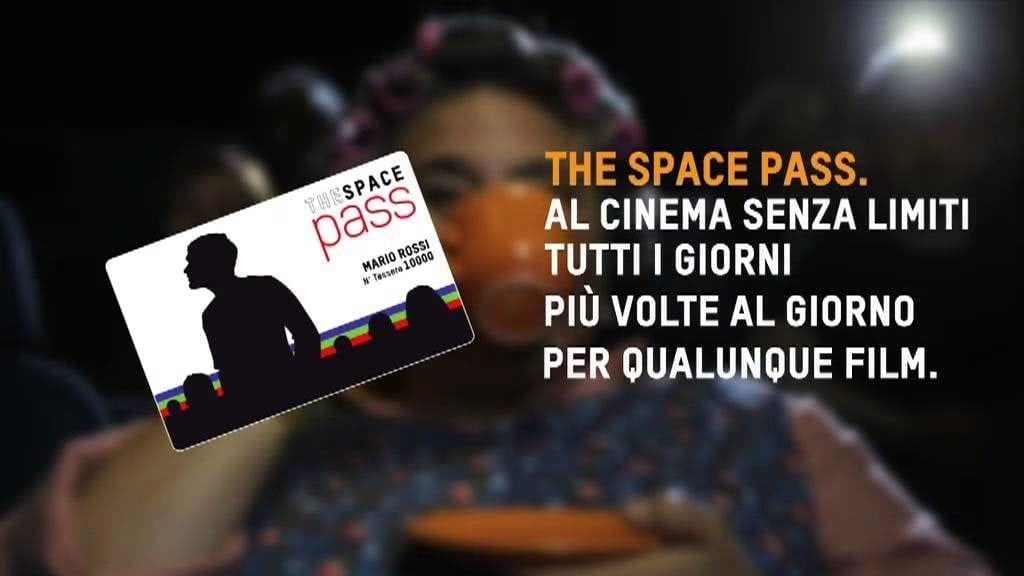 The Space Pass: anche in Italia il cinema senza limiti con la card lanciata da The Space Cinema 1