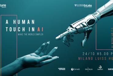 """""""A HUMAN TOUCH IN AI"""":  AL VIA IL PROGRAMMA DI INCUBAZIONE AI WORKLAB 2.0"""