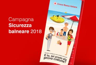 CROCE ROSSA ITALIANA – CAMPAGNA #ESTATESICURA