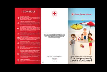 CROCE ROSSA ITALIANA - CAMPAGNA #ESTATESICURA 2