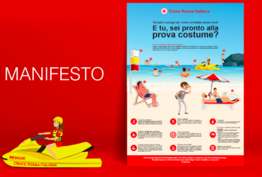 CROCE ROSSA ITALIANA - CAMPAGNA #ESTATESICURA 4