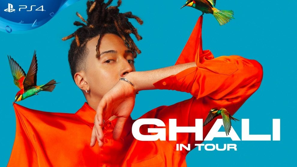 Ghali in Tour 2018: disponibile su PlayStation4 il live streaming  del concerto conclusivo