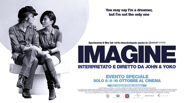 Imagine – Il ritorno di John Lennon e Yoko Ono nei cinema The Space