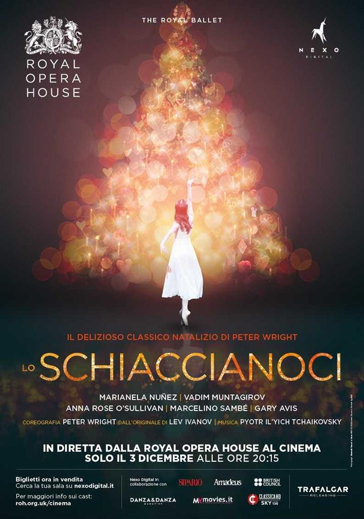 Lo Schiaccianoci: nei The Space Cinema la magia del balletto di Natale  in diretta dalla Royal Opera House