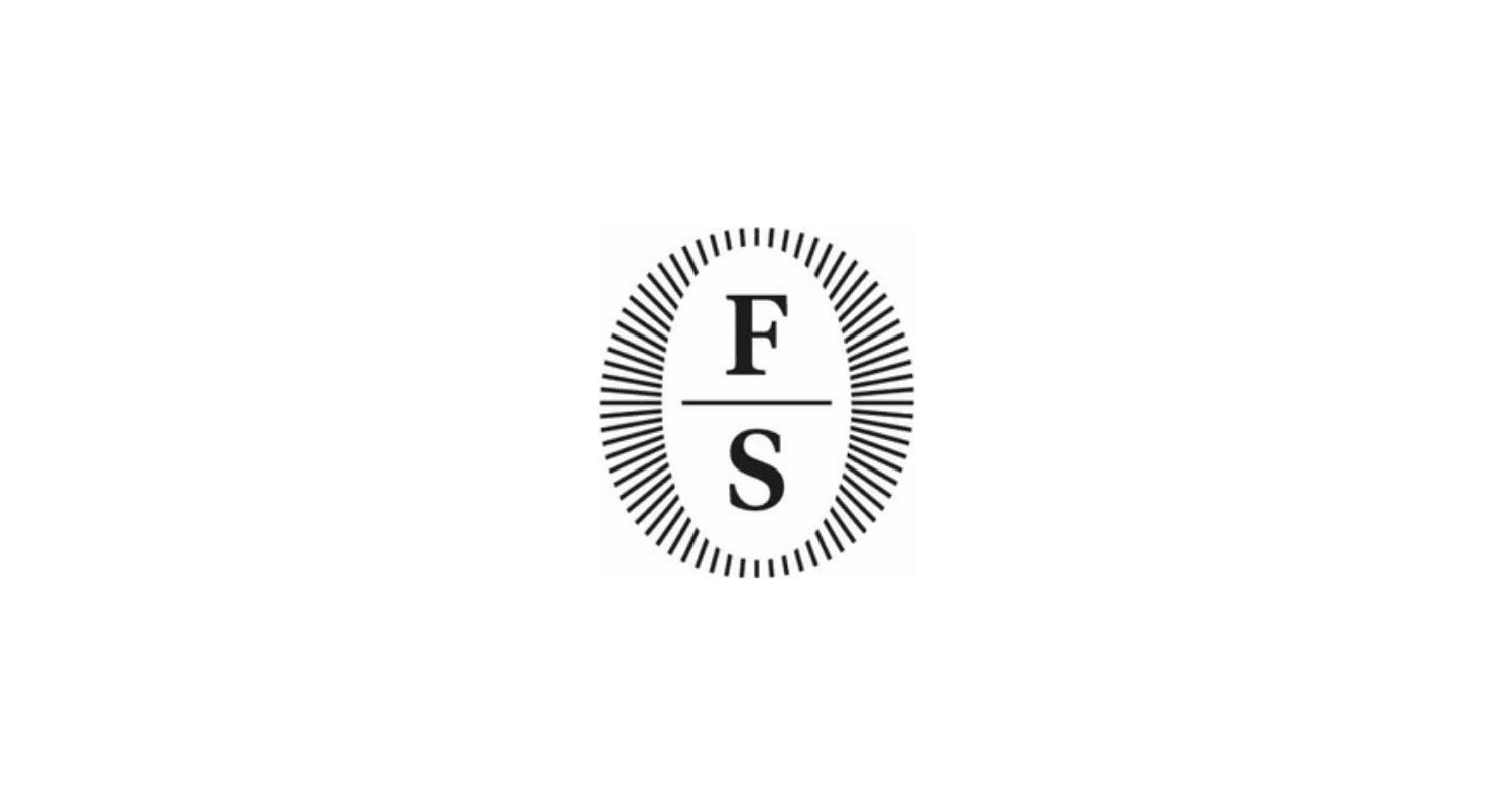 logo nero su sfondo bianco