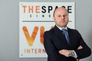 Francesco Grandinetti guiderà il circuito presente in Italia con 36 multisala The Space Cinema, per un totale di 362 schermi