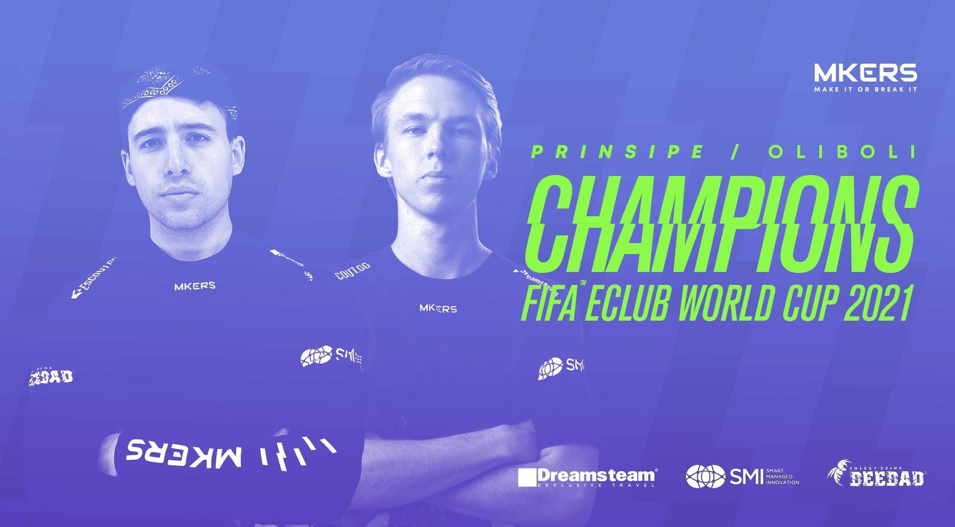 Mkers è campione della FIFA eClub World Cup